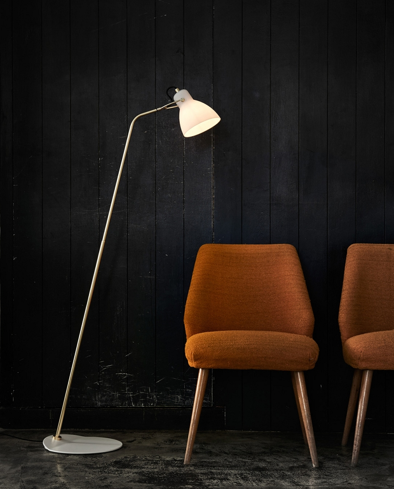 Laito Opal Floor Lamp | Seed Design