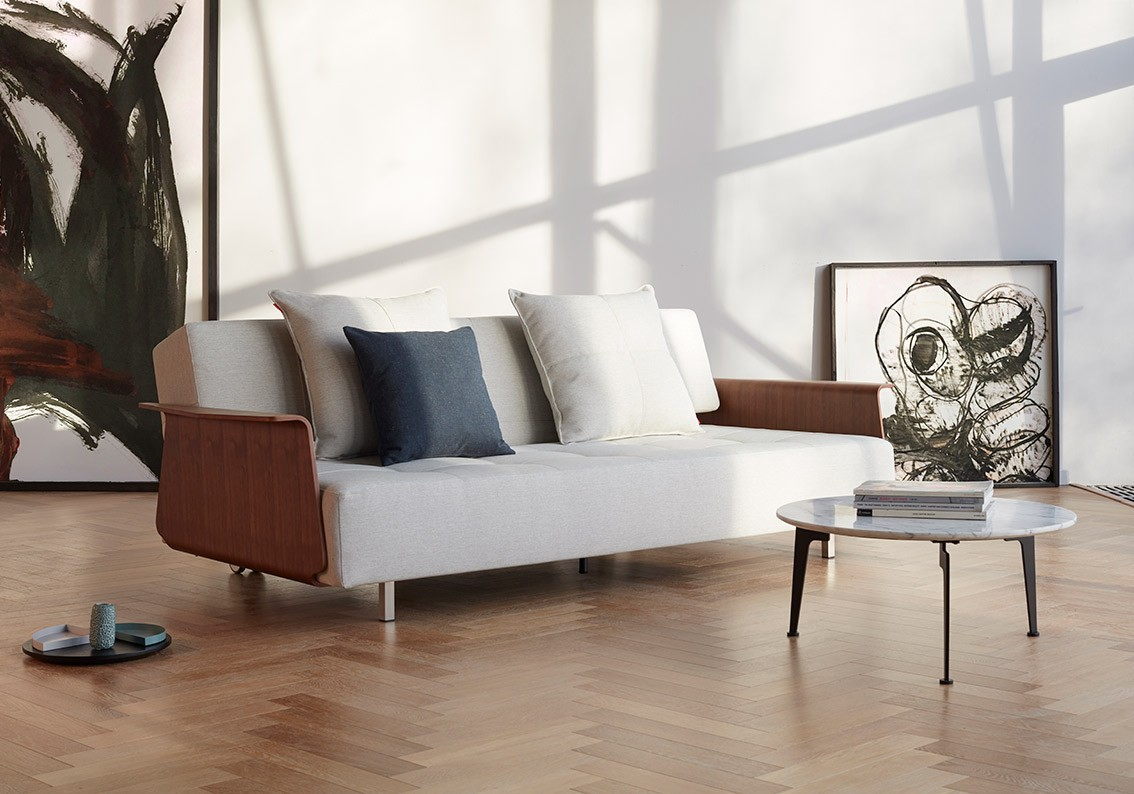 Long Horn Deluxe Excess Sofa with Arms | Innovation USA