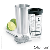 Lounge Boston Cocktail Shaker Set | Blomus