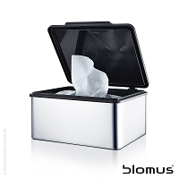 Menoto Bathroom Storage and Tissue Box | Blomus