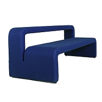 Moby Bench with Backrest | B&T