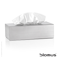 Nexio Stainless Steel Tissue Holder | Blomus