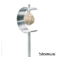 Nido Stainless Steel Half Moon Bird Feeder | Blomus