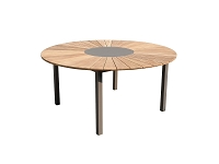 Sanctuary Taupe Outdoor Dining Table| Whiteline
