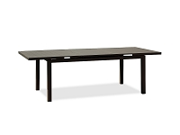 Alum Outdoor Extendable Dining Table| Whiteline