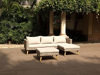 Harmonia Outdoor Set| Whiteline
