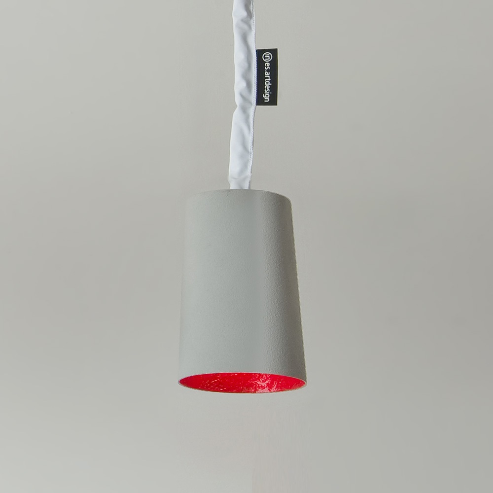 Paint Cemento Pendant Light | In-es Art Design