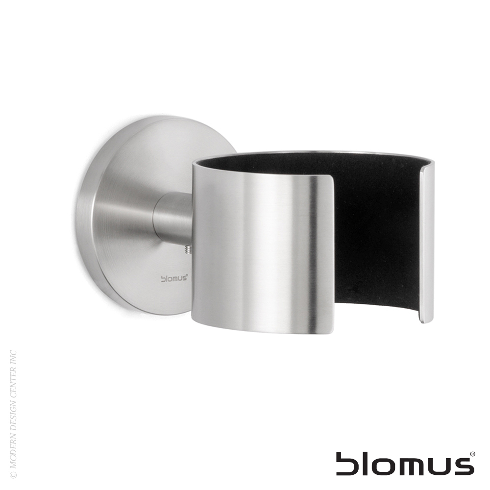 Primo Wall Mounted Hairdryer Holder Polished | Blomus