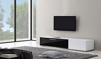 Producer TV Stand, White | B-Modern