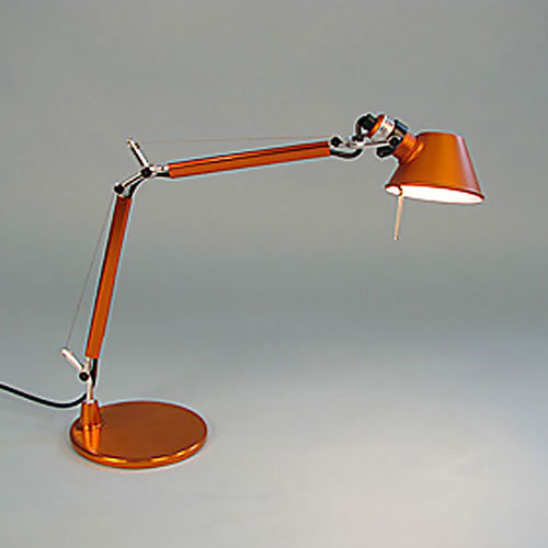 Tolomeo Micro Table Lamp Orange open box | Artemide