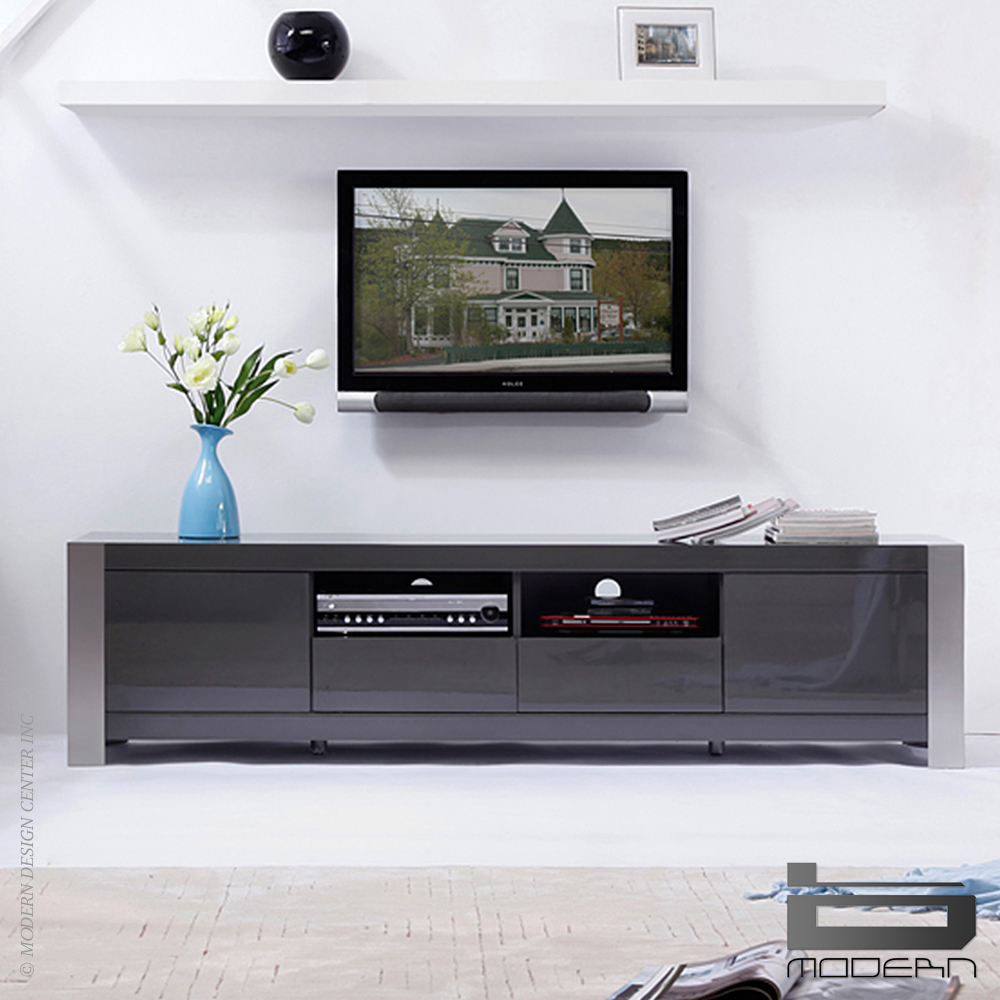 B Modern Composer Grey Amp Tv Stands Metropolitandecor