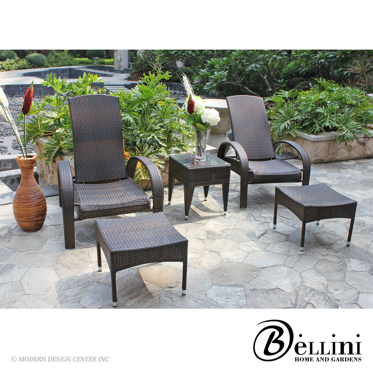 Azul 5-piece Chat Set W64105 | Bellini