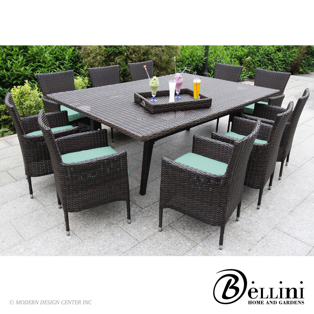Laredo 12-piece Dining Set W81412 | Bellini