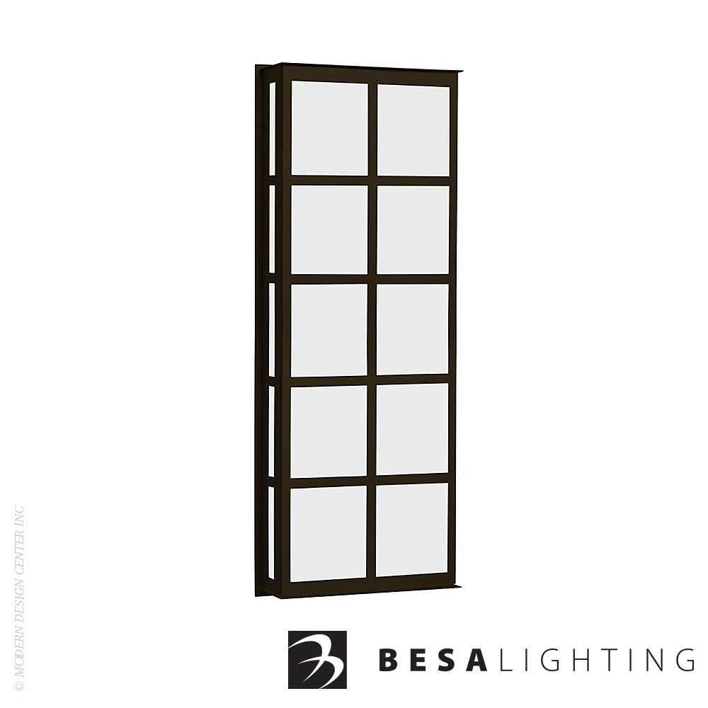 Bree 26 Outdoor Wall Sconce | Besa Lighting