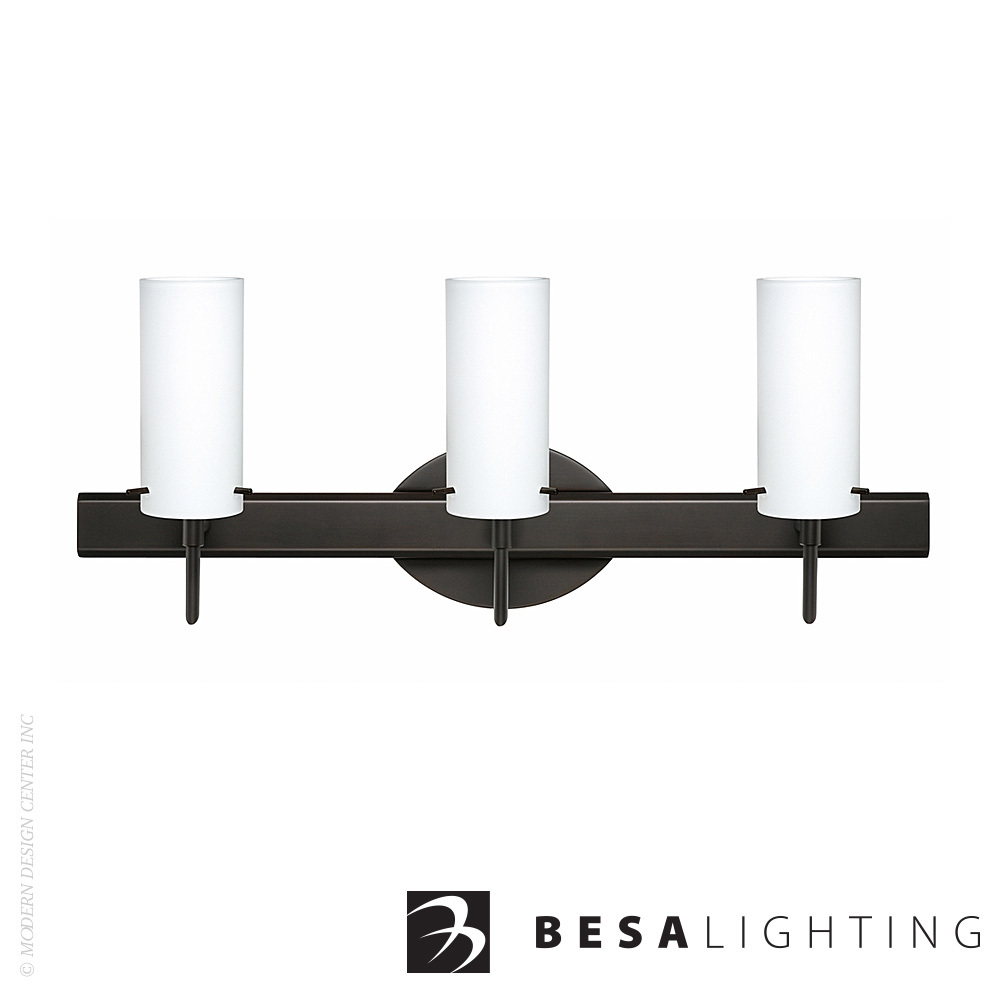 Copa 3 3-Light Vanity Sconce | Besa Lighting