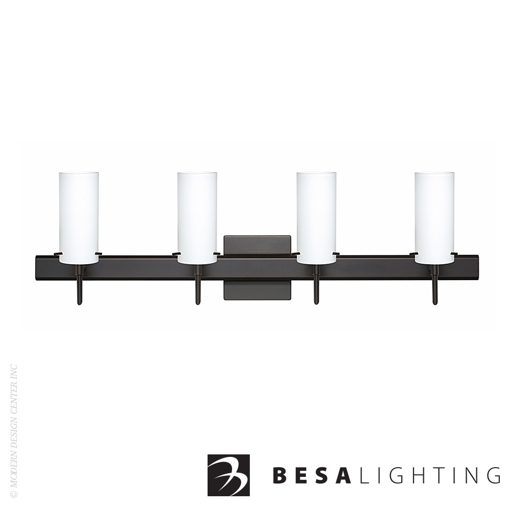 Copa 3 4-Light LED Vanity Sconce | Besa Lighting