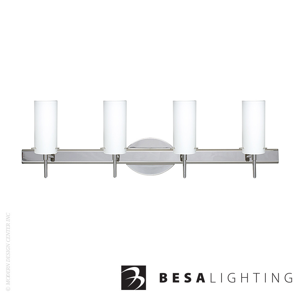 Copa 3 4-Light Vanity Sconce | Besa Lighting