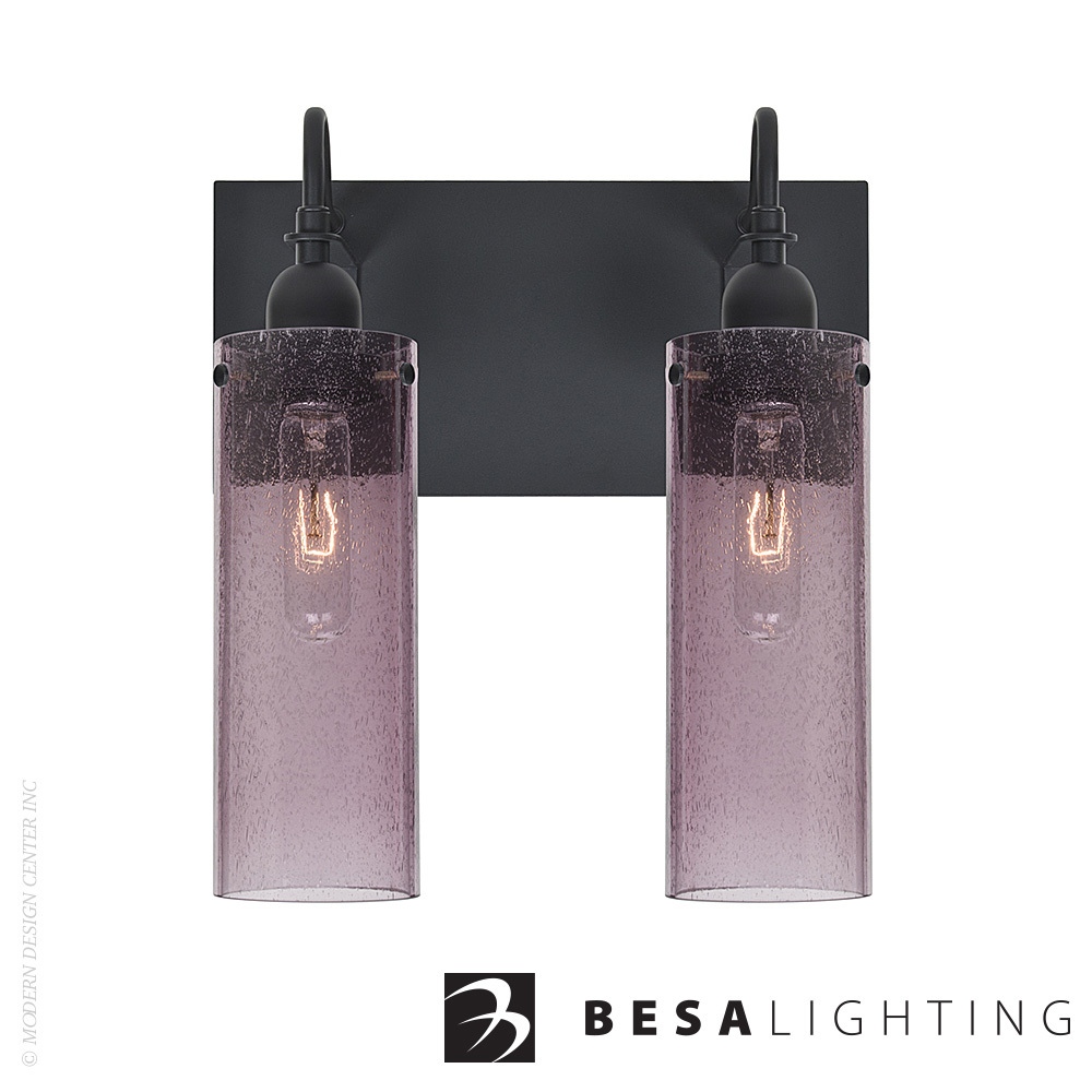 Juni 10 2-light Vanity Sconce | Besa Lighting