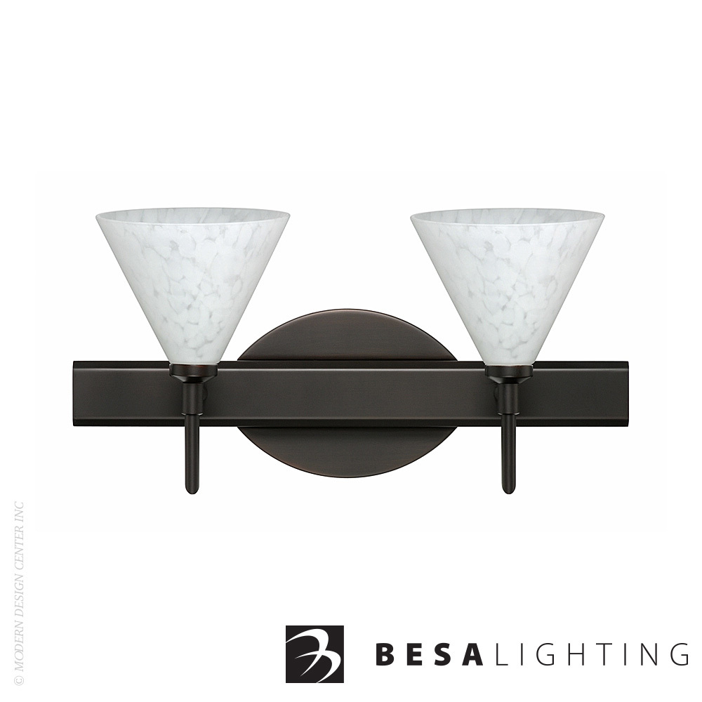 Kani 2-Light LED Vanity Sconce | Besa Lighting