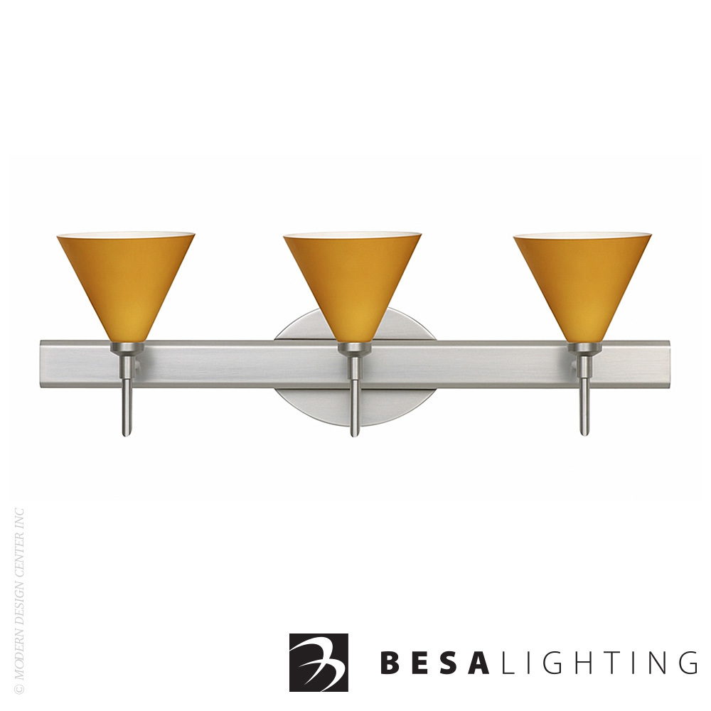 Kani 3-Light Vanity Sconce | Besa Lighting