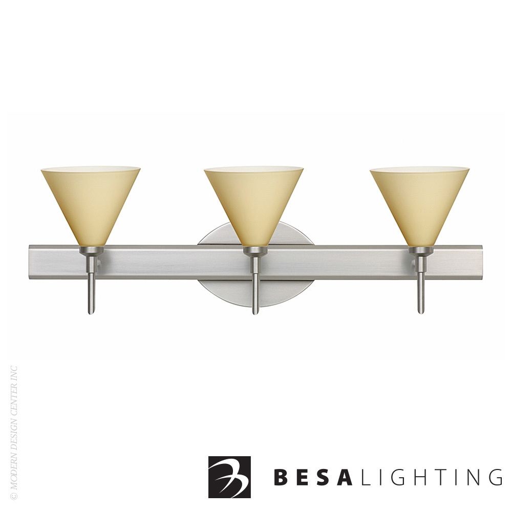 Kani 3-Light LED Vanity Sconce | Besa Lighting