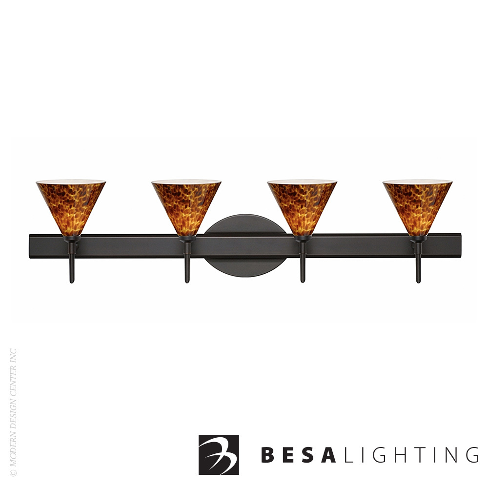 Kani 4-Light LED Vanity Sconce | Besa Lighting