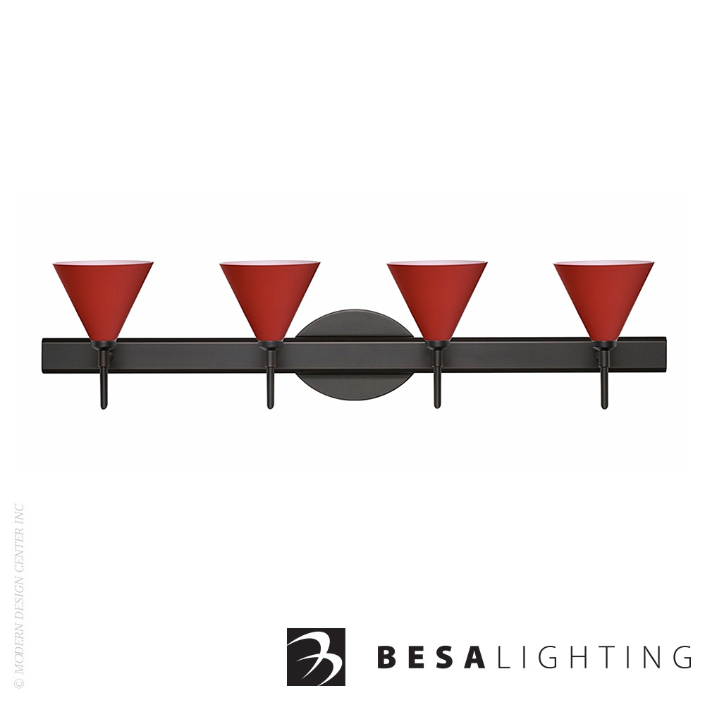 Kani 4-Light Vanity Sconce | Besa Lighting