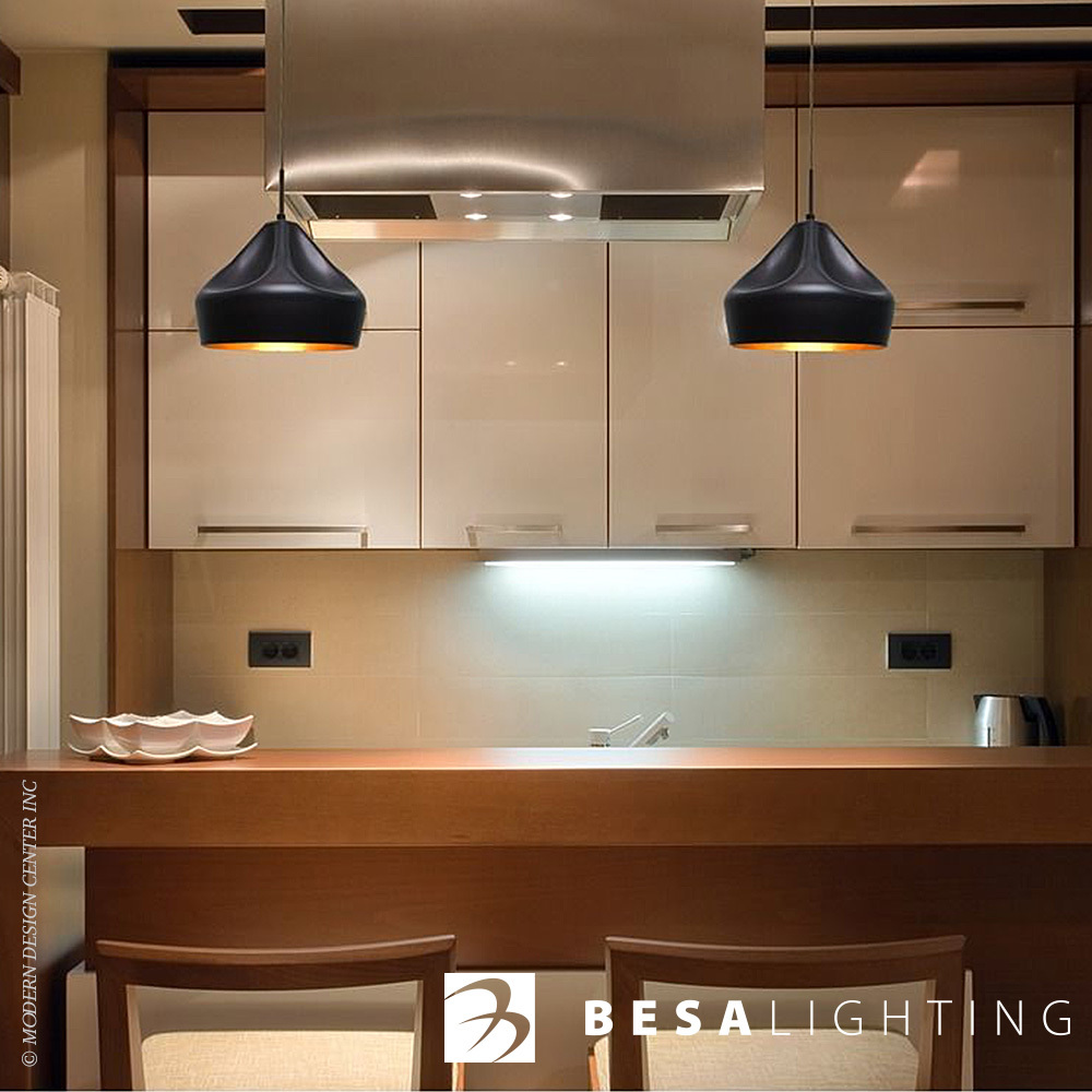 Quick View & Lotus LED Pendant Light | Besa Lighting | MetropolitanDecor