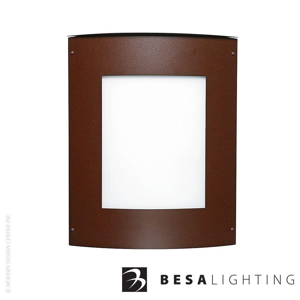 Moto 8 Square Outdoor Wall Sconce | Besa Lighting