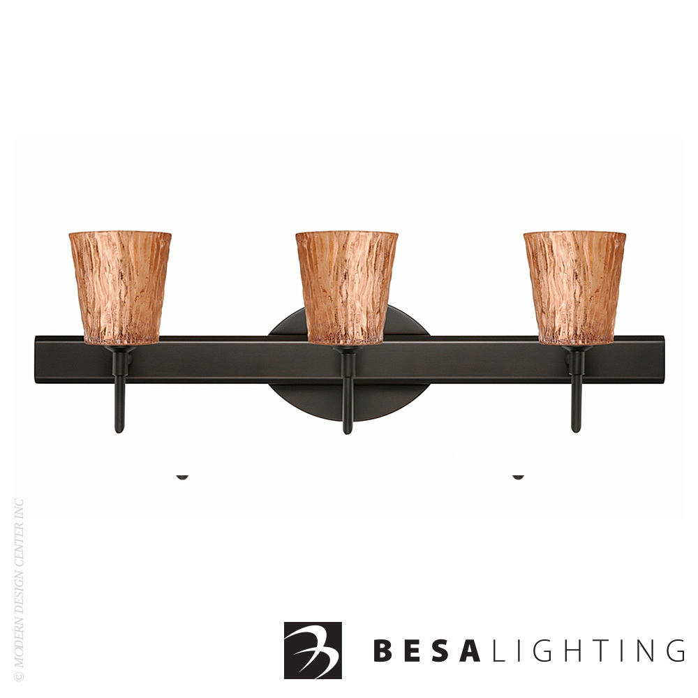 Nico 4 3-light Vanity Sconce | Besa Lighting