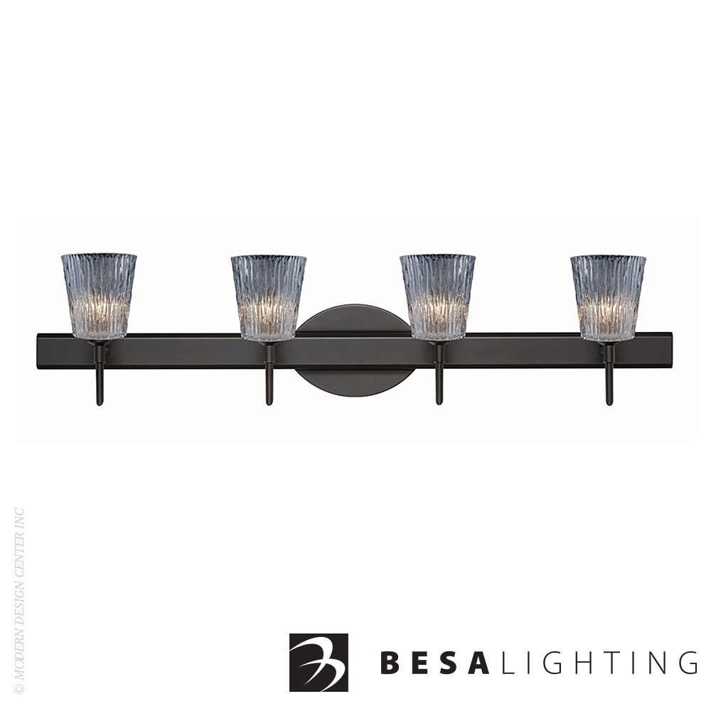 Nico 4 4-light Vanity Sconce | Besa Lighting