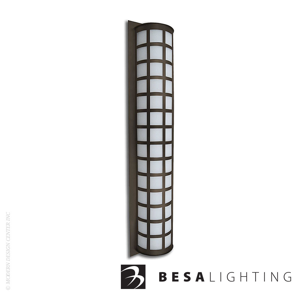 Scala 40 Outdoor Wall Sconce | Besa Lighting