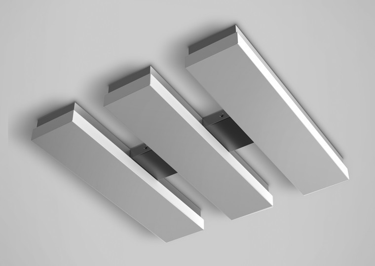 Cloud3 LED Flush Mount | Blackjack Lighting