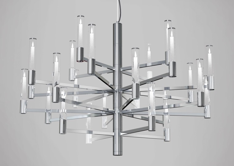 Seraph LED Chandelier | Blackjack Lighting