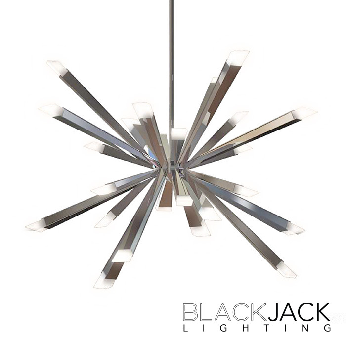 Starburst LED Chandelier | Blackjack Lighting