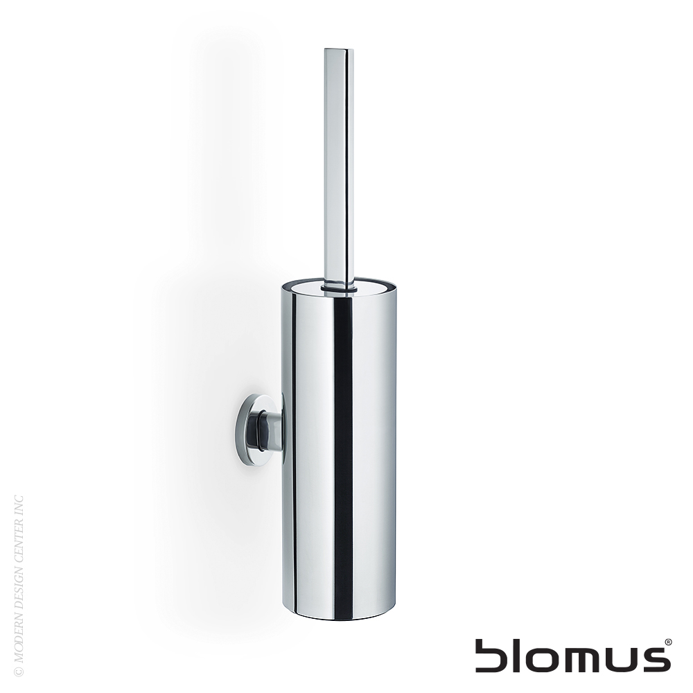 Areo Toilet Brush Wall Mounted Tall | Blomus