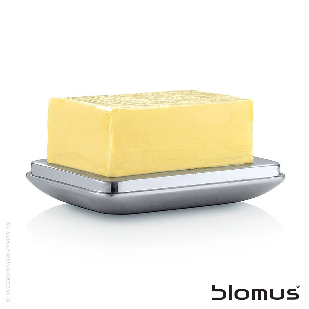 Basic Stainless Steel Butter Dish Medium | Blomus