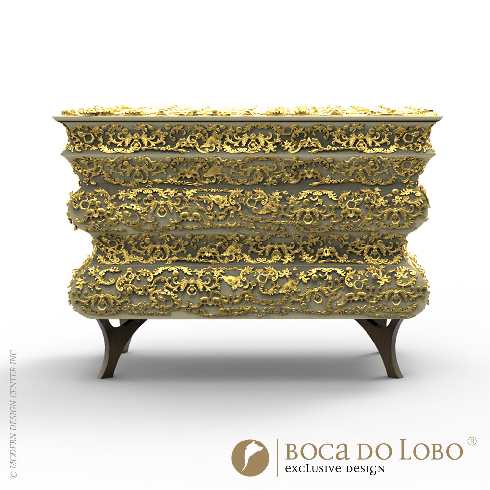 Crochet Chest Limited Edition | Boca do Lobo