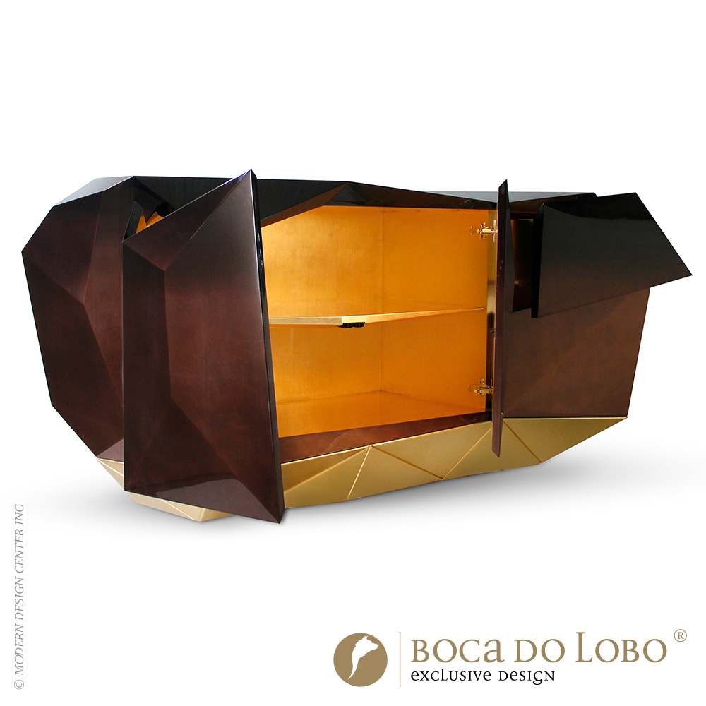 Diamond Chocolate Sideboard Limited Edition | Boca do Lobo