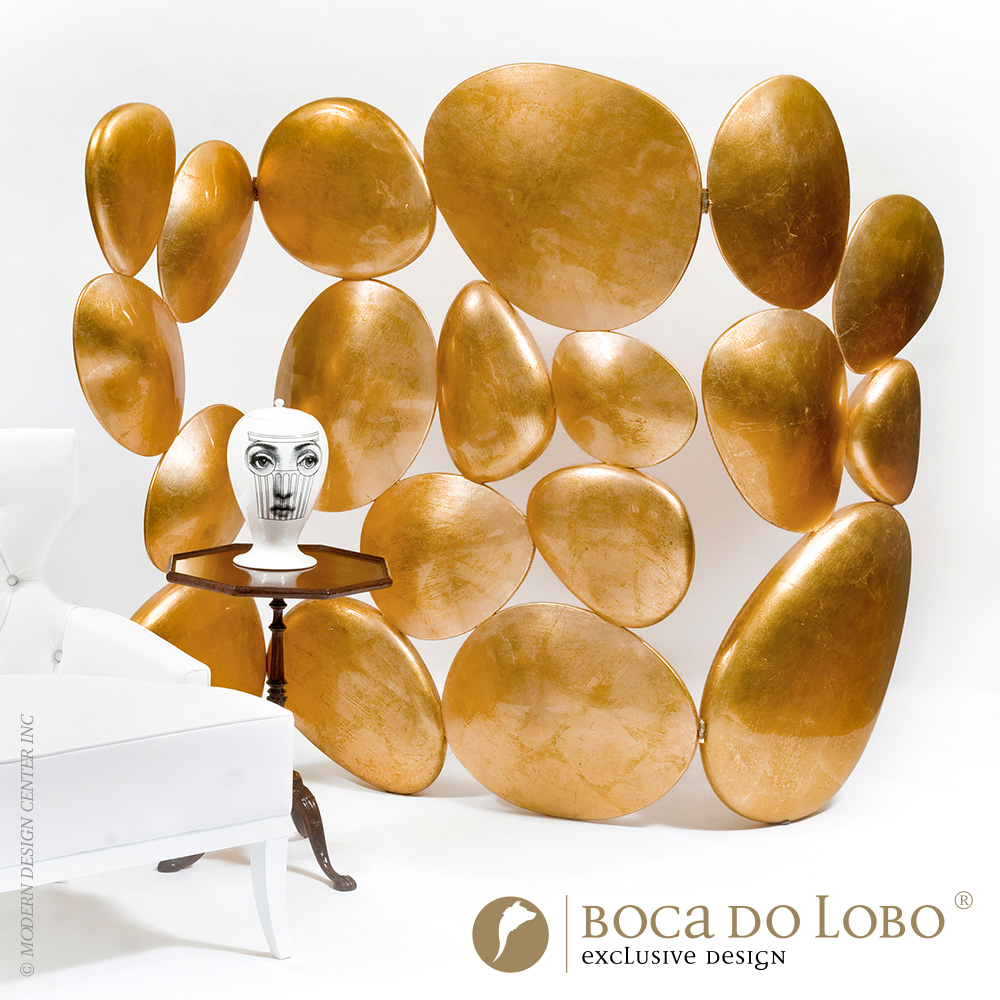 Gold Folding Screen Limited Edition | Boca do Lobo