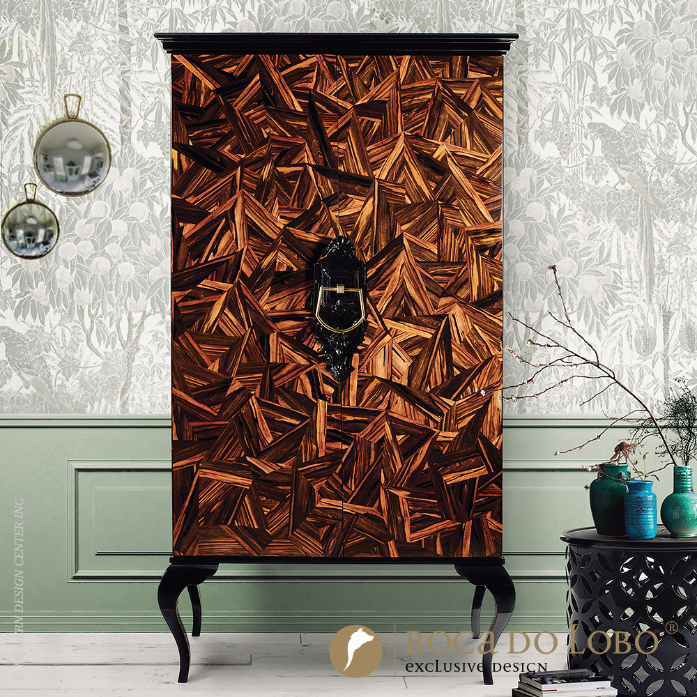 Guggenheim Patch Cabinet Soho Collection | Boca do Lobo