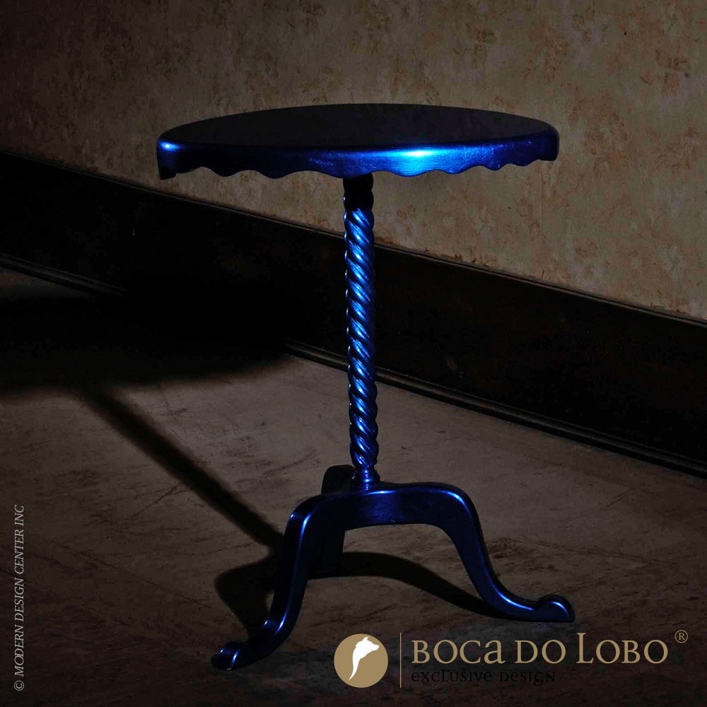 Ottoman Side Table Coolors Collection | Boca do Lobo