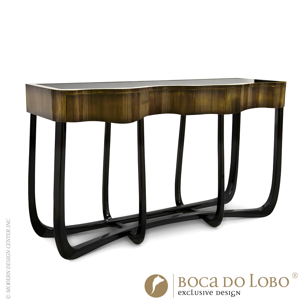 Sinuous Patina Console Coolors Collection | Boca do Lobo