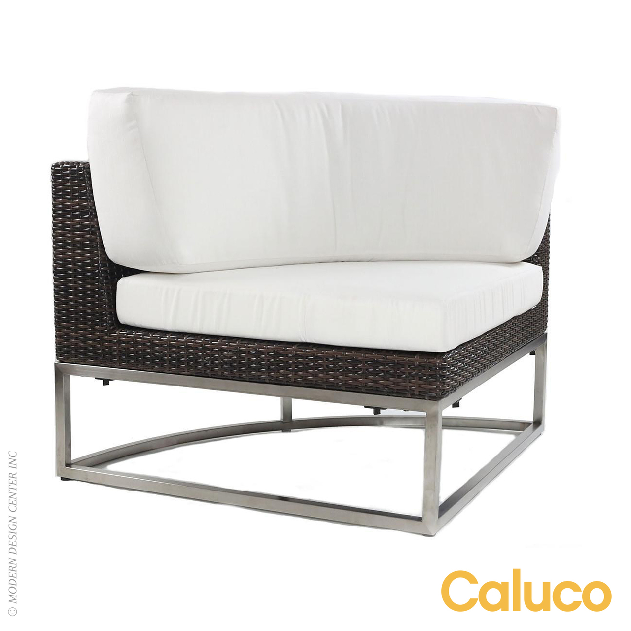 Mirabella Sectional Curved Corner | Caluco Patio Furniture