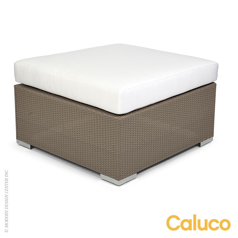 10 Tierra Ottoman | Caluco Patio Furniture