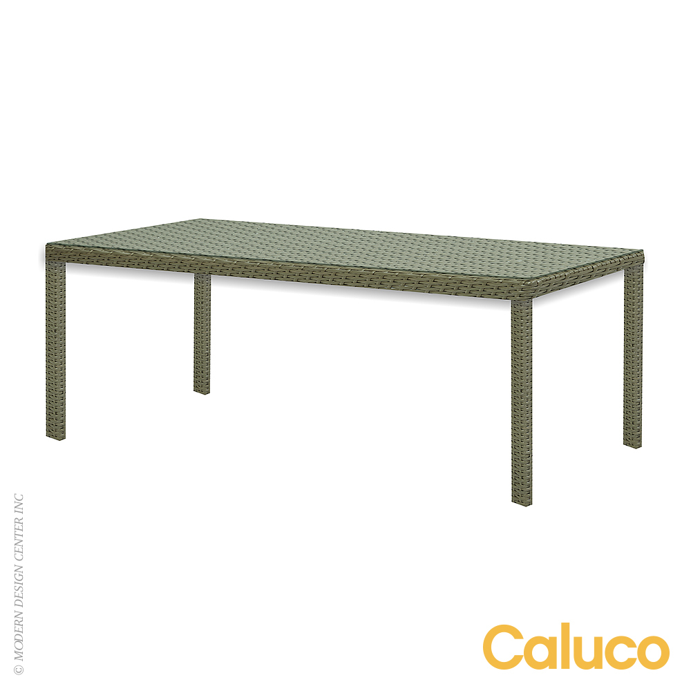 10 Tierra Rectangle Dining Table | Caluco Patio Furniture