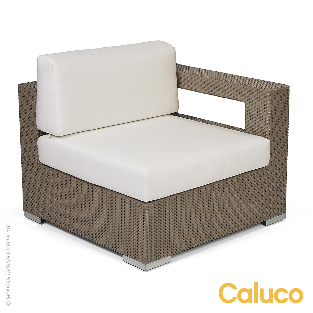 10 Tierra Sectional Left Set of 2 | Caluco Patio Furniture