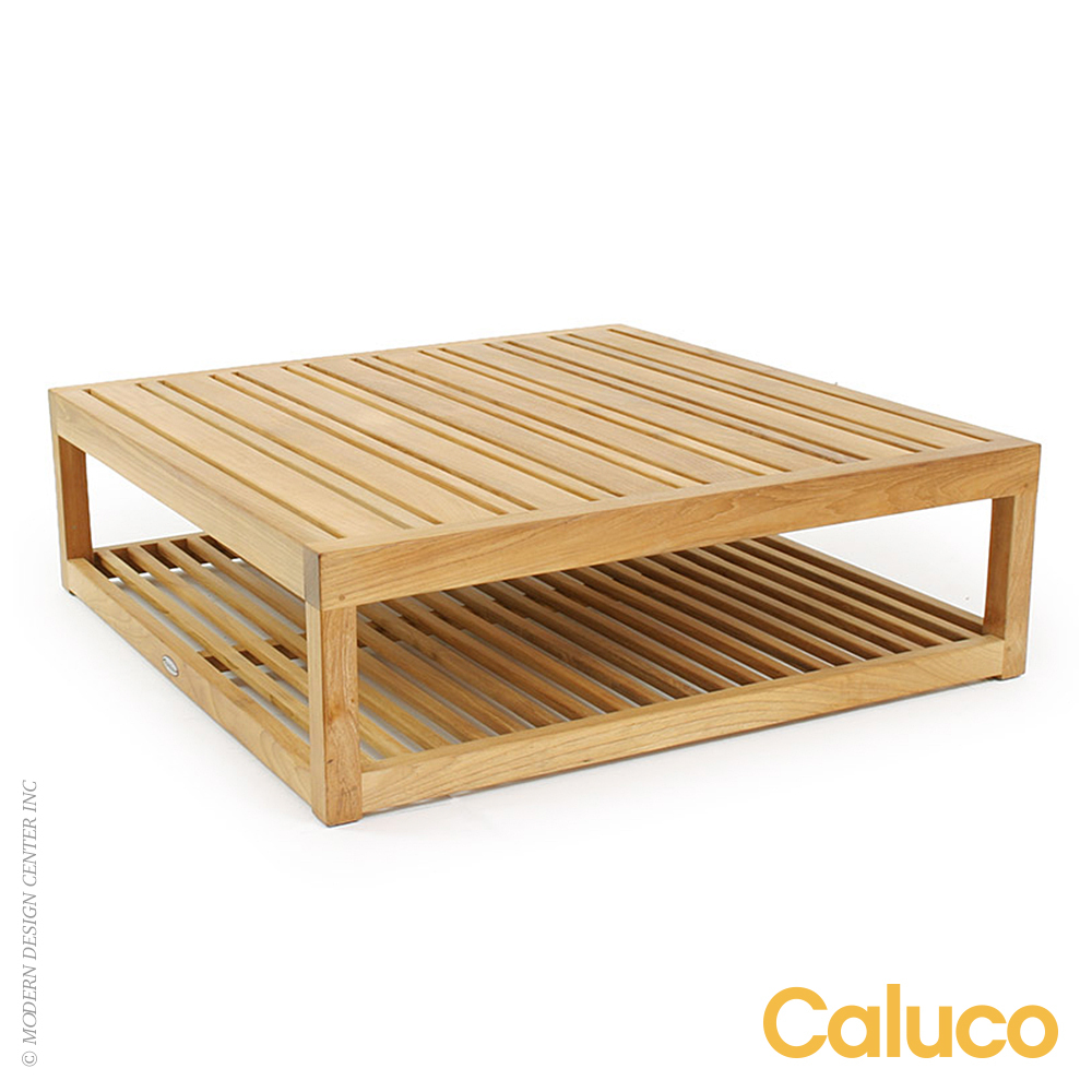 Cozy Coffee Table Ottoman | Caluco Patio Furniture