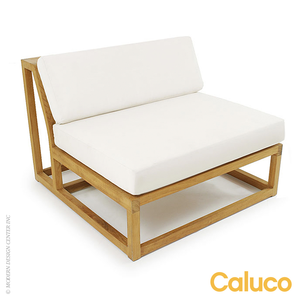 Cozy Middle Sectional | Caluco Patio Furniture