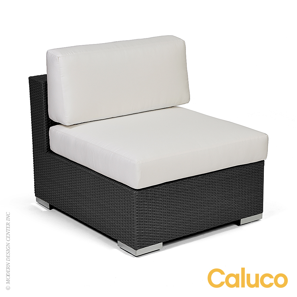 Dijon Sectional Middle Set of 2 | Caluco Patio Furniture